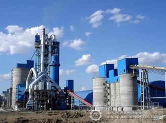 Линия по производству цемента