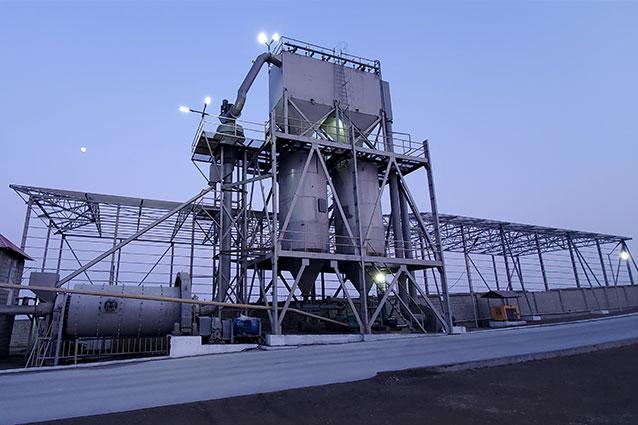 Станция для изготовления угля