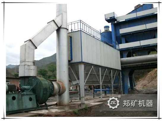 Пылеуловитель для асфальтосмесительной установки