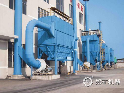Пылеуловитель для цементного завода